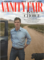 Beto on Vanity Fair cover