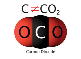 CO2 is not carbon