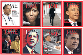 Obama on Time magazine cover