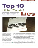 Top 10 global warming lies