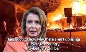 Pelosi's advice to rioters