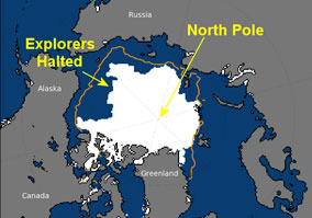 Arctic mission halted