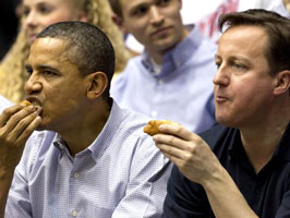 Obama really likes hot dogs