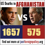 War deaths - Obama vs Bush
