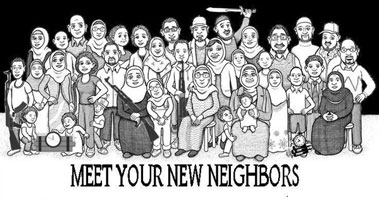 Meet your new neighbors