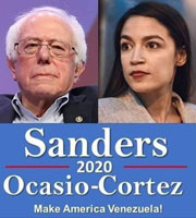 Sanders and AOC in 2020