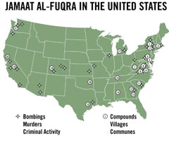 Terrorist training camps in the U.S.