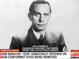 A message from Joe Goebbels